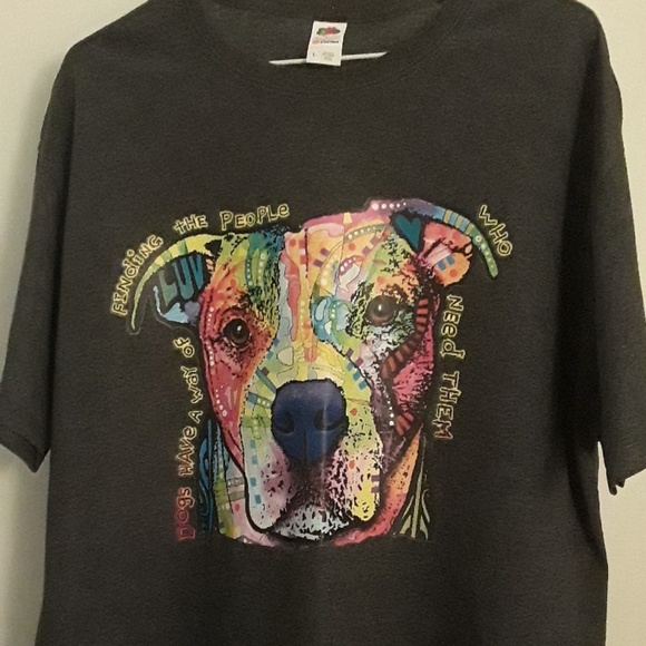 Fruit of the Loom Other - New Dog Lover t-shirt   Various sizes Colorful